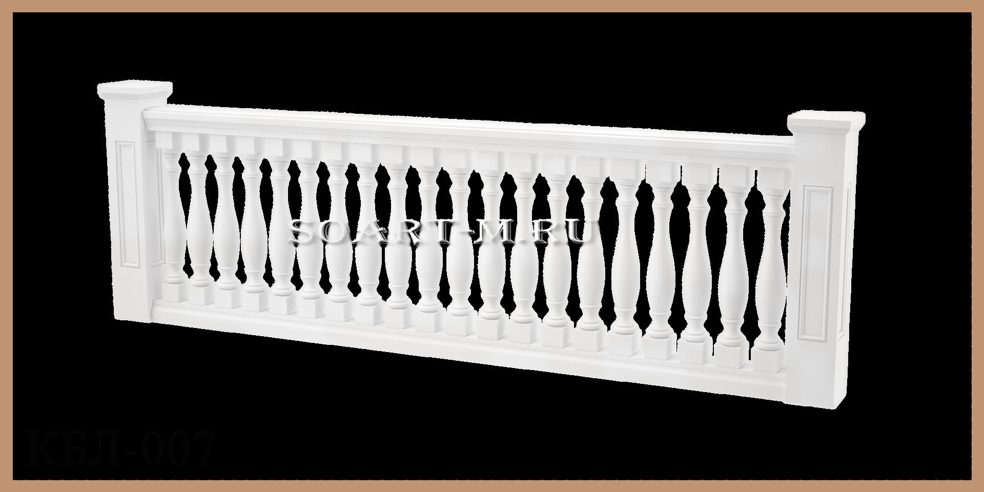 балюстрада полиуретана