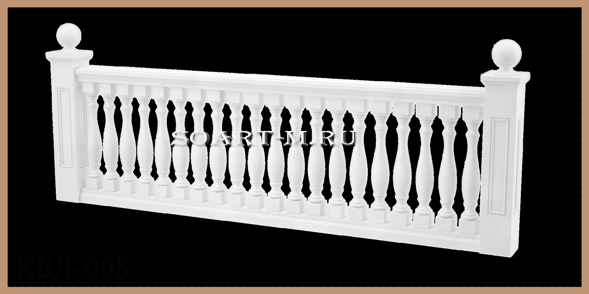 балюстрада полимербетон