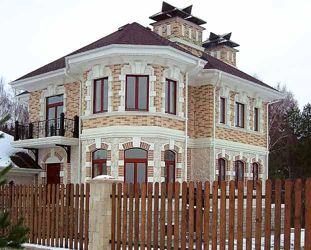 Фасадный декор из полимербетона
