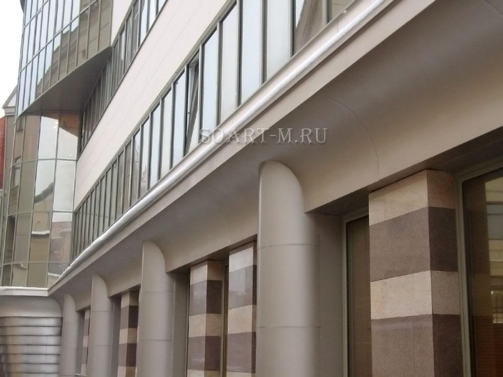 стоимость фасадного декора