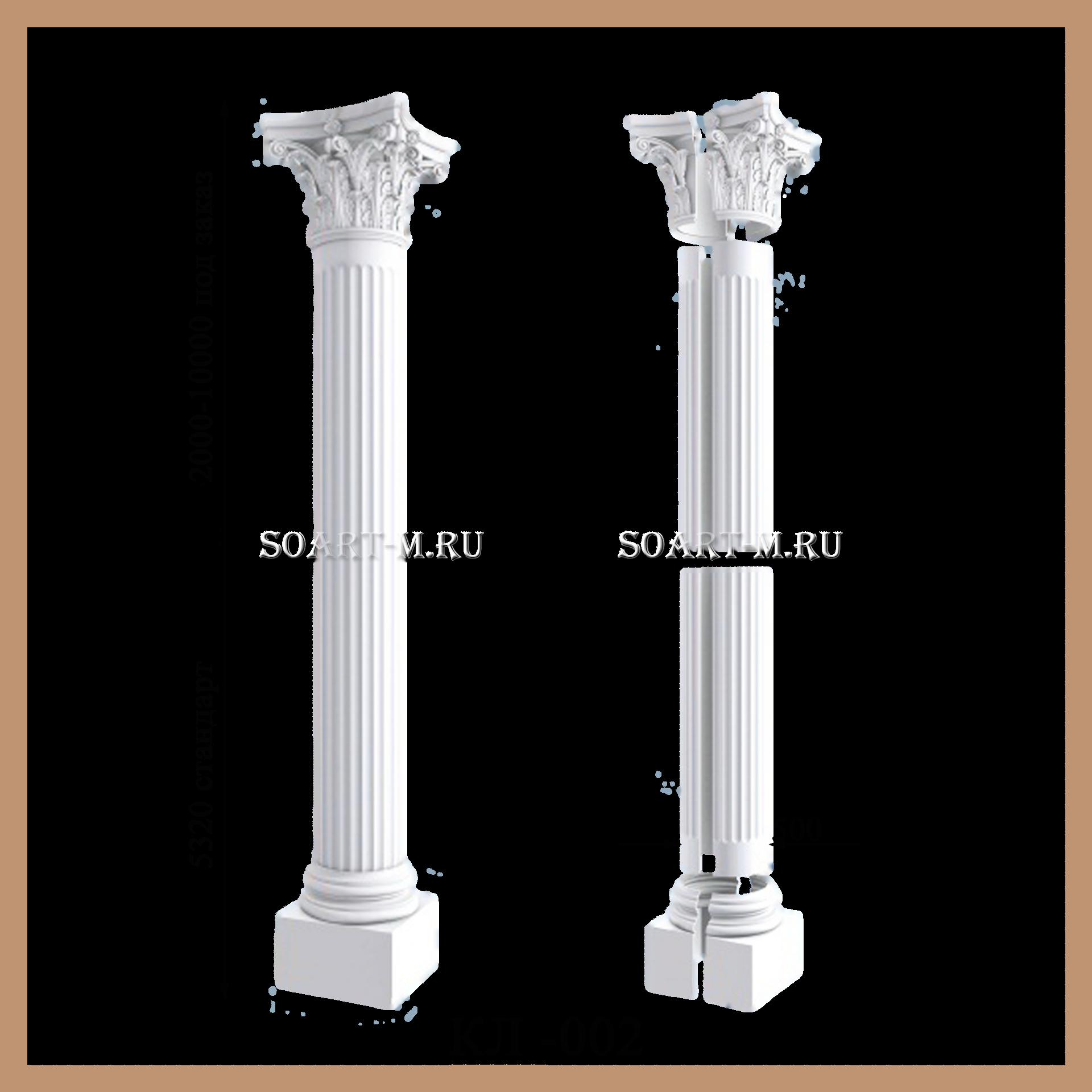 колонны из полиуретана
