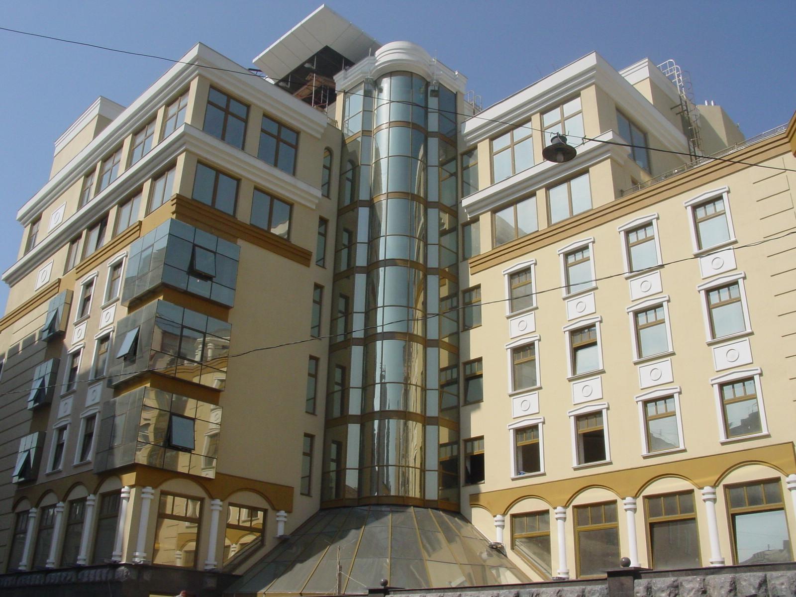 Архитектурные элементы на фасадах