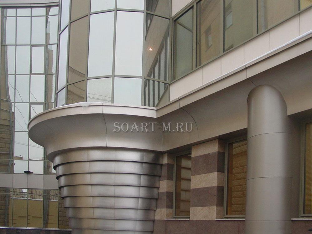 архитектурный фасадный декор