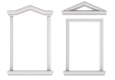 Наличники на окна из полиуретана